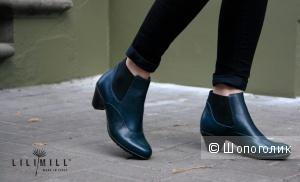 Демисезонные ботинки  Lilimill, 38 размер.