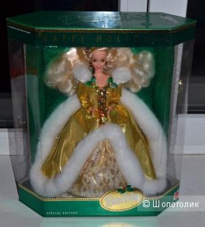 Новая барби коллекционная Happy Holiday Barbie 1994