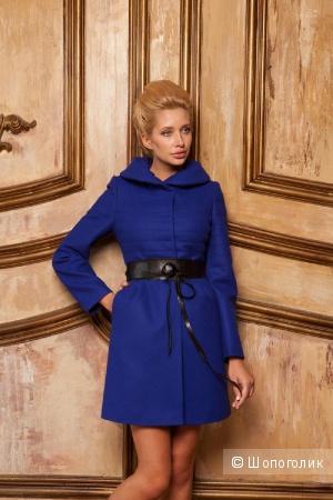 Стильное пальто Dekka. Новое.Черное. Размер 48