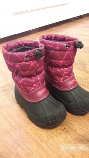 Сапожки для девочки Reima, 26 размер