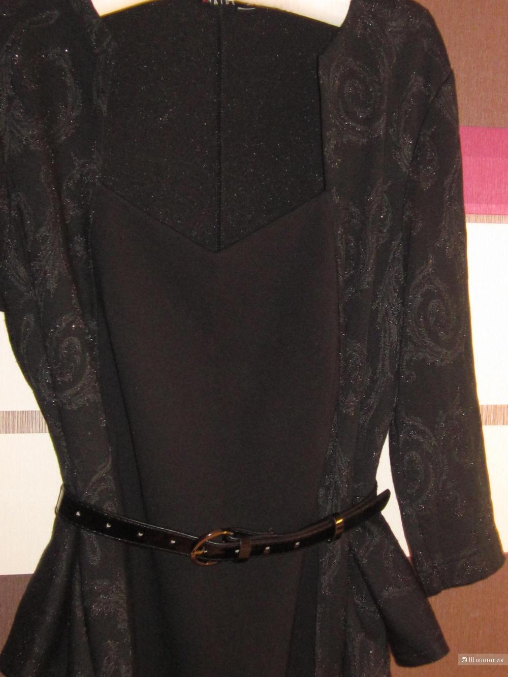 Платье прибалтийского бренда VAIDE черное р.XL