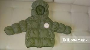 Детский пуховик Benetton 75-85рост