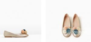 Балетки Zara новые размер 32EU.