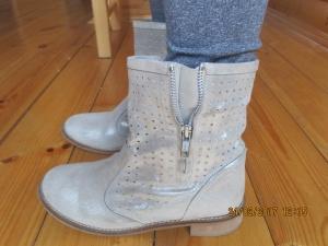 Замшевые ботинки lazamani 36 размер