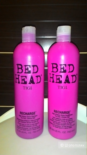 Шампунь и кондиционер TIGI Bed Head Recharge