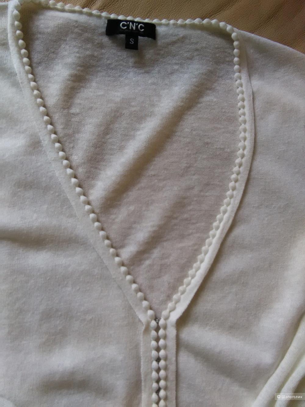 Блузка CNC (Италия), хлопок 100%, р. 42 - 44 RU