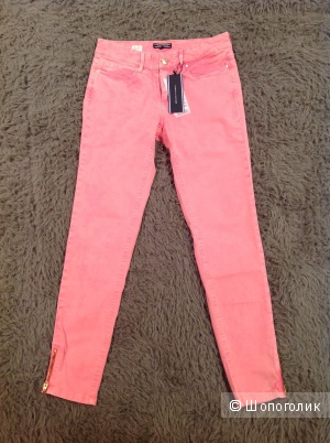 Джинсы Tommy Hilfiger,розовые,42 размер