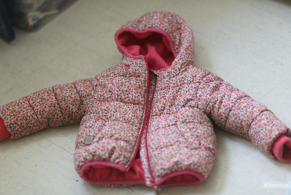 Продам куртку NEXT на девочку 12-18 месяцев.