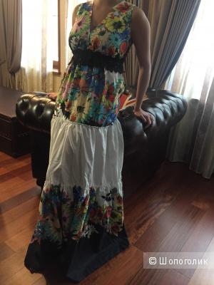 Летнее платье Roberto Cavalli 44-46 размер