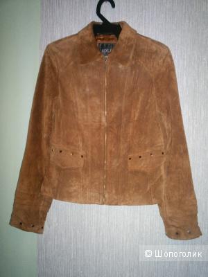 Натуральный замшевый пиджак  Adler collection.