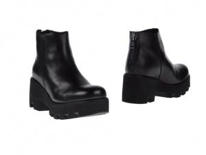 Женские кожаные ботинки CULT,39 eur, черные