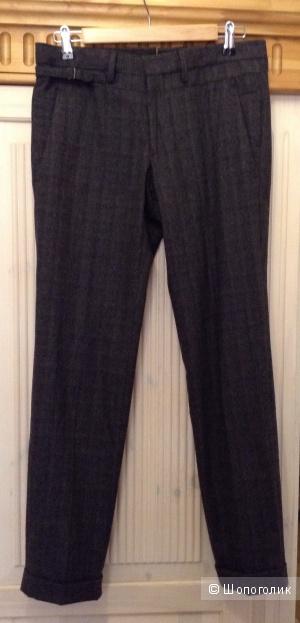 Теплые брюки-дудочки на молодого парня Gazzarinni,Италия