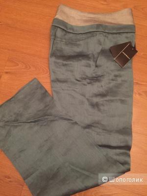 Летние льняные брюки Emporio Armani 42it