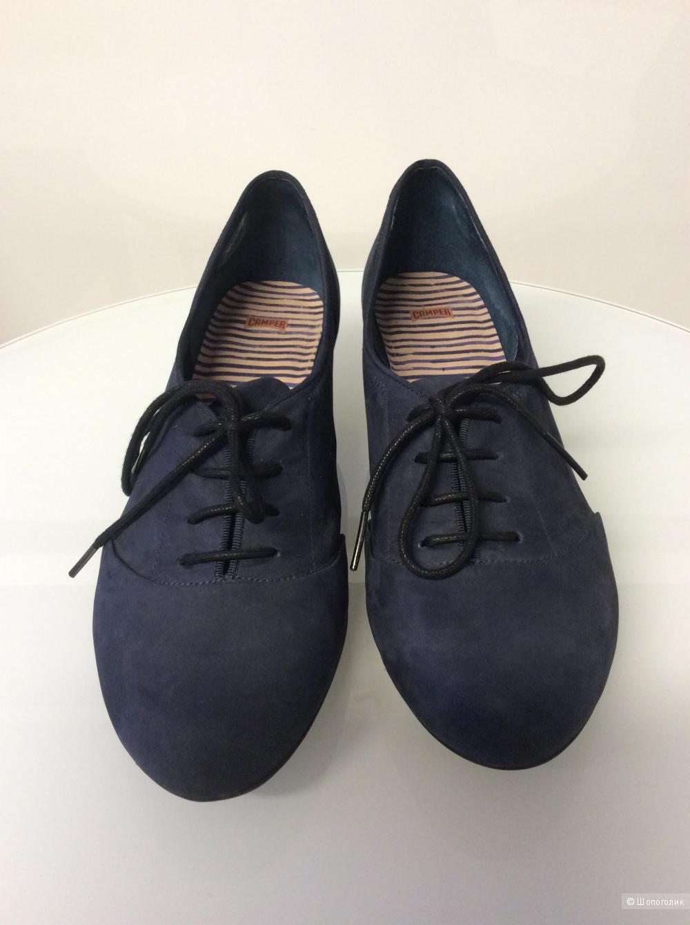 Туфли Camper из нубука р.40