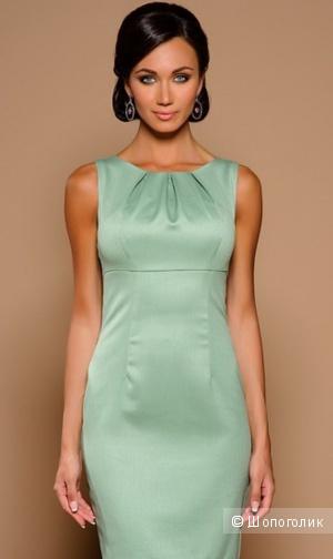 Платье Stets красивого оливково-мятного цвета, 42 рос. р-р