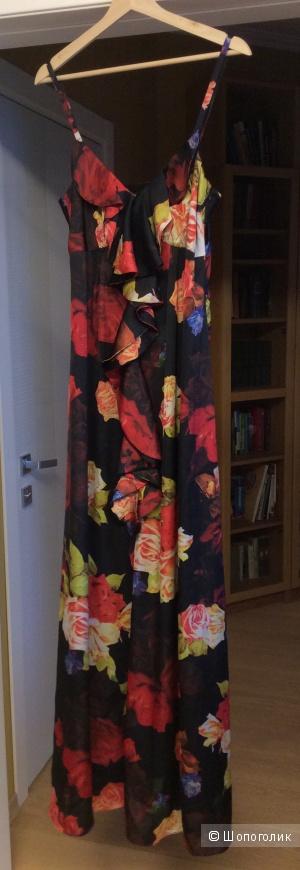 Длинное платье Ted Baker р.3 (на росс. 44-небольшой 46 и высокий рост)