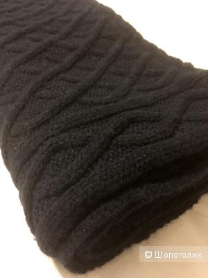 Gant шарф-снуд глубокого темно-синего цвета
