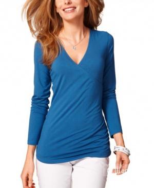Трикотажная блуза Tchibo, размер 46-48