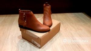 Женские ботинки, кожа, размер 41, цена 1500 руб.