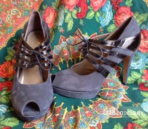 Mi amor collection,туфли на танкетке ,Италия,38-39 размер