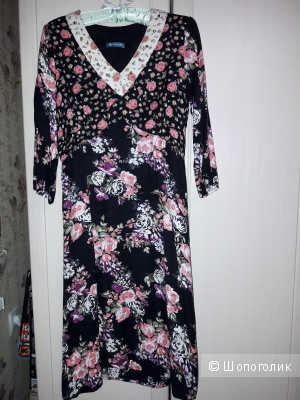 Стильное винтажное платье By Lusgaard 46 размера.