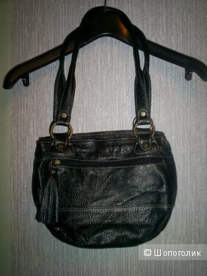 Кожаная сумка Alesya.