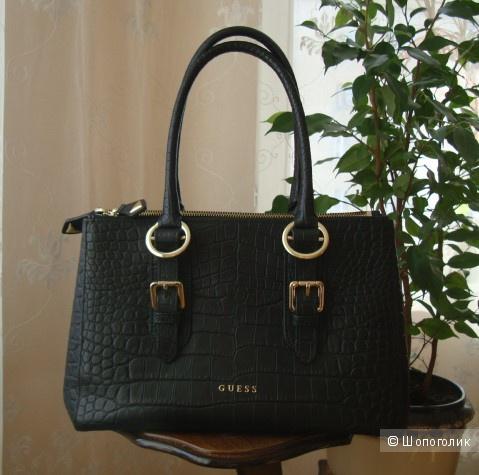 b788b92aab0a Новая сумка Guess серии Luxe из натуральной кожи под рептилию, в ...
