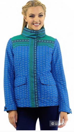 Женская куртка с интересным принтом размер XS