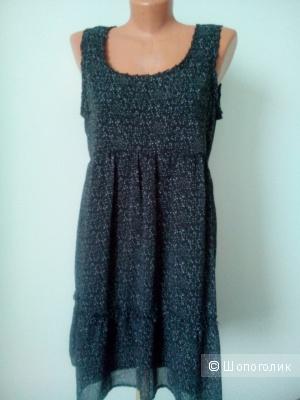 Летнее платье-сарафан. Размер 38.
