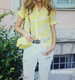 Шёлковая блуза-рубашка от MaxMara weekend