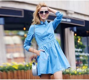 Джинсовое платье Veri Gude размер L (44-46 российский)
