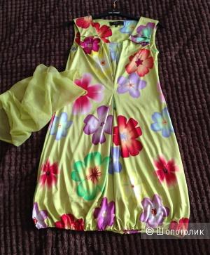 Шелковое платье Re Vera, S