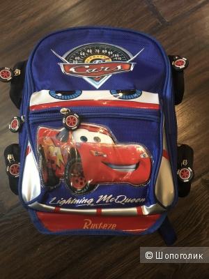 """Детский рюкзак """"Тачки"""" - Молния Маккуин"""