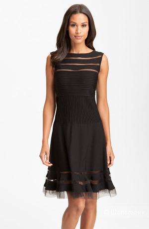 Tadashi Shoji красивое платье черного цвета р.46-48 Новое.Оригинал