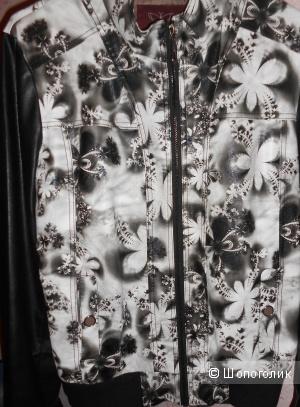 Куртка кожаная женская 44-46 размера(новая)