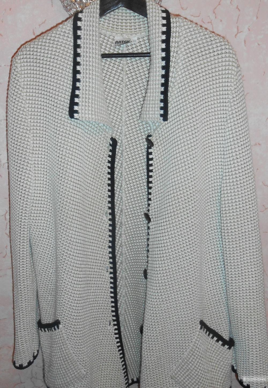 Кардиган вязанный ручной работы (новый) 52-54 размер