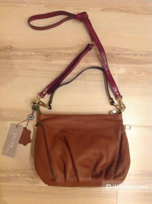 Новая сумочка Kellen из натуральной кожи,Италия