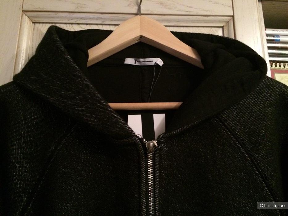 Новое неопреновое пальто T by Alexander Wang, Large