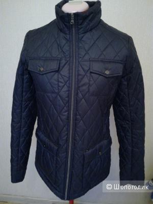 Куртка женская демисезонная темно-синяя  Ostin
