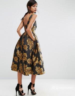 Роскошное платье миди ASOS SALON