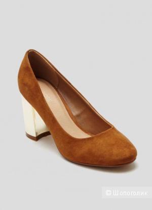 Туфли на металлизированном каблуке Fiore р.41