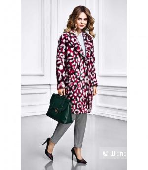 Стильное шерстяное пальто La Reine Blance О-силуэта 40-44 размер