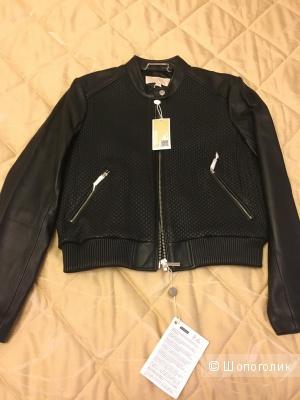 Кожаная куртка MICHAEL MICHAEL KORS, размер L