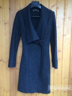 Новый кардиган-пальто Promod темно-серого цвета (40-42 размер)
