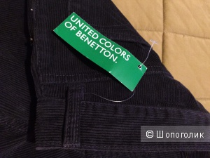 Брюки мужские вельвет United Colors of Benetton 31 размер