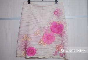 Льняная юбка French Connection