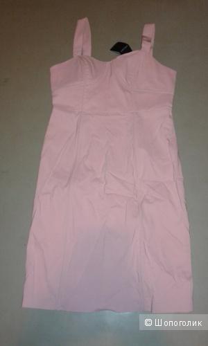 Новое нежно-розовое платье Fever 44-46 с этикеткой