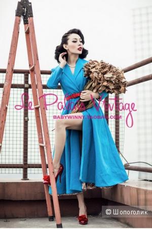 Пальто-плащ китайского бренда LE PALAIS VINTAGE
