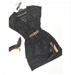 Платье Almagores из ламинированного кружева