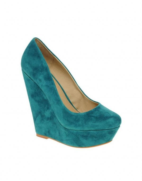 Яркие замшевые туфли ALDO, р-р 36